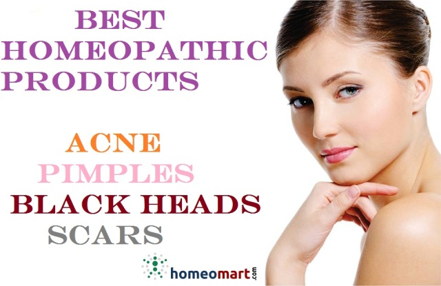 Homeopathy products for Acne, Pimples, Black Heads, Scars