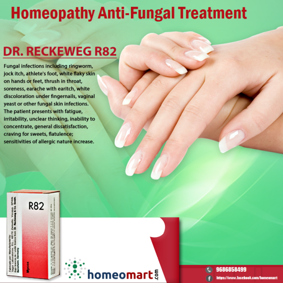 Homeopathy anti-fungal medicine for ring worms, yeast infection etc