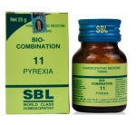 SBL Bio combination No. 11 Tablets for Fever