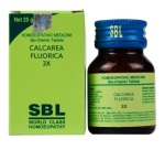 SBL Biochemic Tablet Calcarea Fluorica