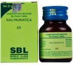 SBL Biochemics Tablets Kali Muriaticum, 25gm