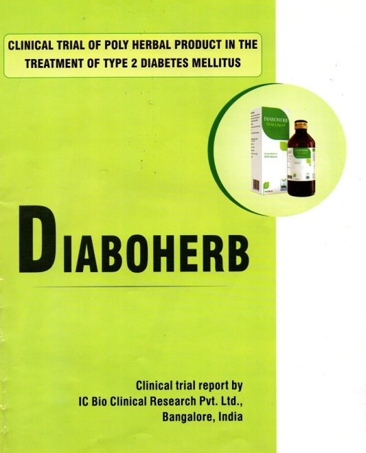 Diaboherb- Clinical report