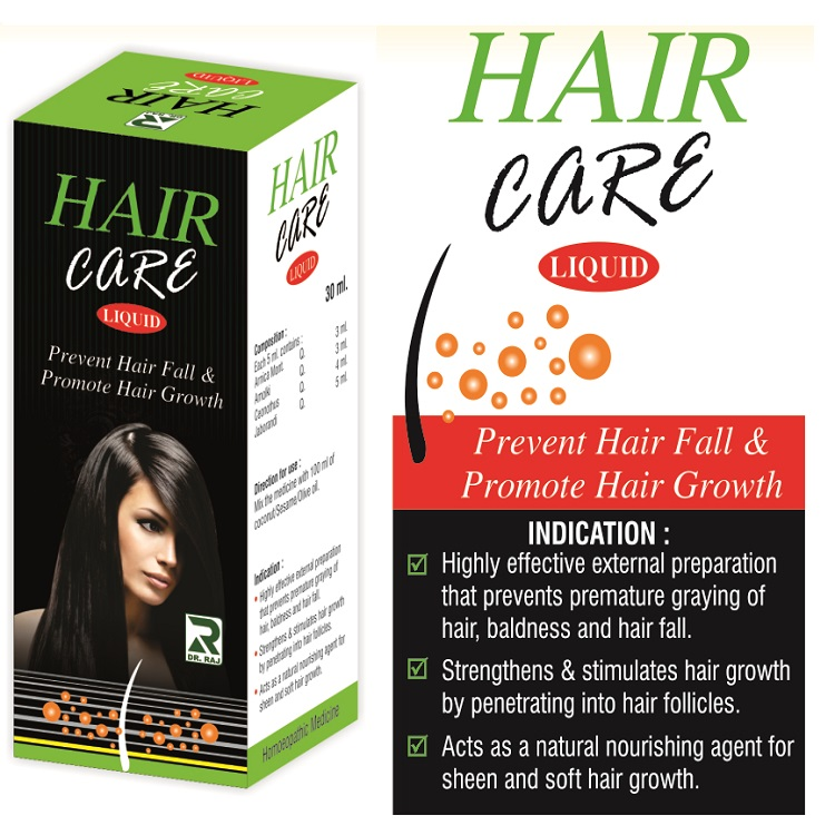 Dr.Raj Haircare Liquid, Prevents hair fall and Promotes Hair Growth