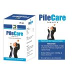 Dr.Raj Pilecare Tablets Homeopathic Cure for Haemorrhoids (Piles)