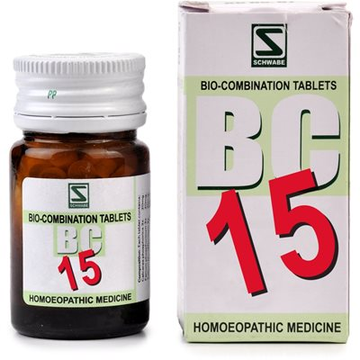 Schwabe Biocombination Tablets BC15 for Menstrual Trouble